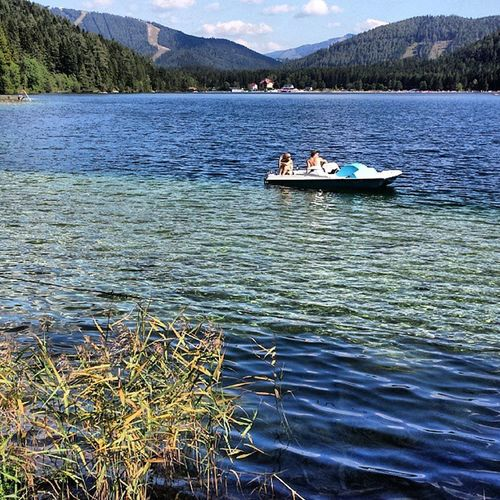 Boattrip Erlaufsee Holiday Water Lake loweraustria strand summer