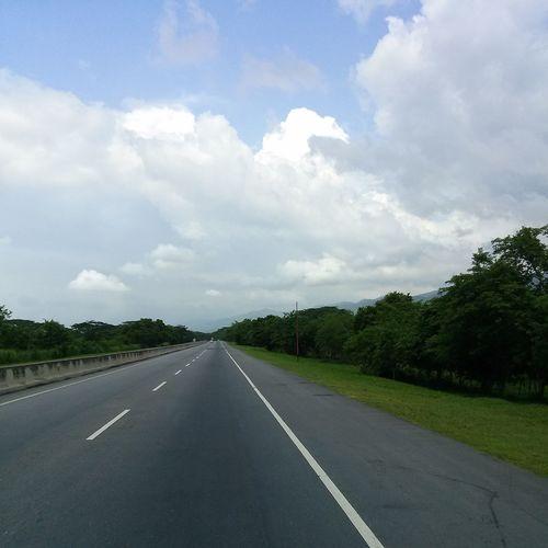 En la Carretera Yaracuy Venezuela
