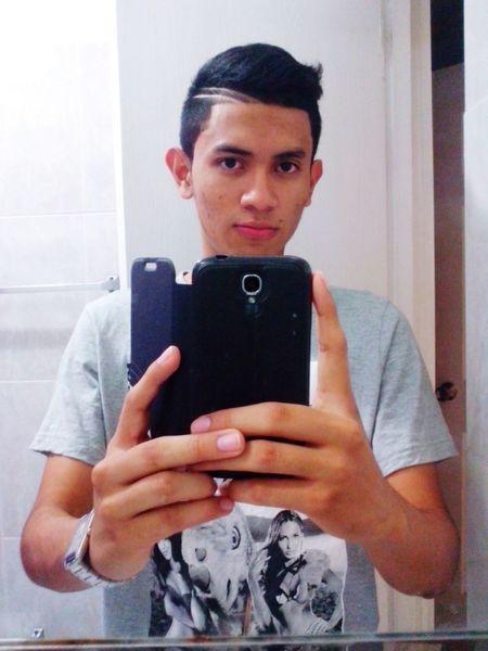 That's Me CutHair Combover Style LatinBoy Italianboy PanamaniaBoy Selfportrait Fresh