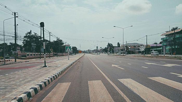 Road Transportation Sky No People