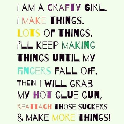 "This is So True! I'm a Crafty Girl ☺ Can't get through the day without crafting. Every day at least have to do a ArtWork with this hand. ☺ "" You HaVeN'T FaiLeD uNTiL You QuiT TRYiNG. "" > > > Nice Quote! ☺ KEEP CREATING! ☺ Repost sizzix.com Original words by Kathy R.Jeffords, The Dreamy Giraffe Quote Quoteoftheday Myquote Artquote Create Creating Creative Creativity Crafting Love"