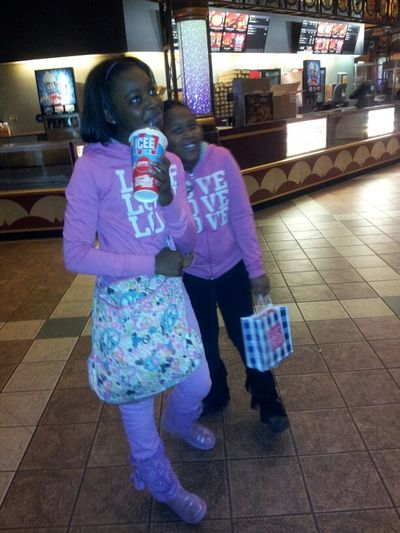My Lil sisters ... They are silly.. Love them