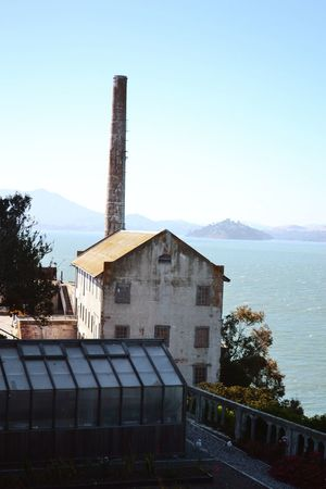 Built Structure Architecture Sky Building Exterior No People Clear Sky Tree Nature Tranquility Mountain Outdoors Scenics Day Alcatraz Island Sanfrancisco SanFranciscoBay Prison Ocean View