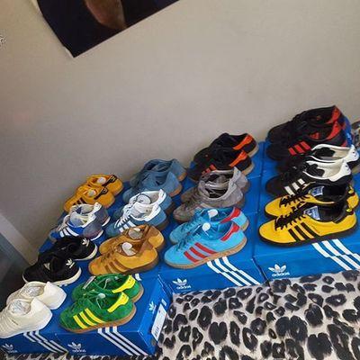 Just few of my trainer 😎✌Adiporn Adidasjamaica Adidasoriginals Adidasspezial Adidashamburg Adidashawaii Adidassl72 Adidasgazelle Adidasgazelle70s Adicasual