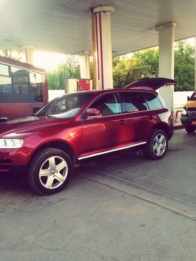 Getting Ready For Journey)))) Filling Up The Tank