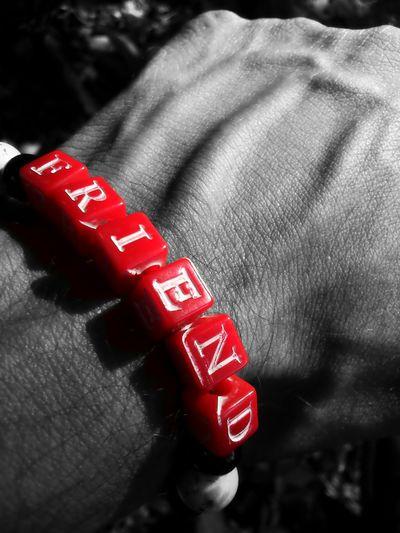 Best buddy's gift Friendship Bracelets Edited Friend Missing