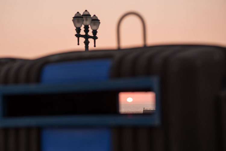 Ways Of Seeing Trash Twilight Dusk Horizon Lamp Recycling Street Street Light Sun Sunset The Street Photographer - 2018 EyeEm Awards #urbanana: The Urban Playground A New Beginning A New Perspective On Life Capture Tomorrow