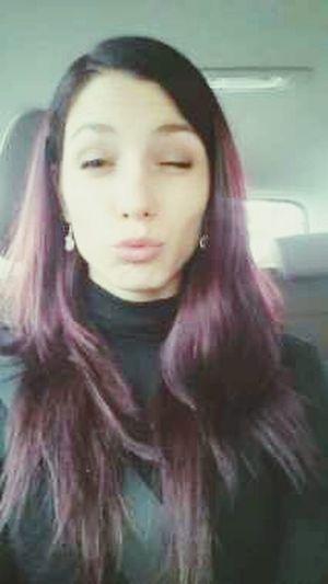 Bacione Hi! Taking Photos Blueyes Fashion Hair Violet Hair Hello World