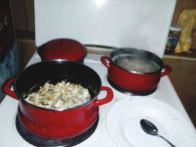 Cooking Time Cooking Dinner Whot Is Four Dinner Relaxing With My Sister  Love ♥ Enjoying A Meal Breakfast Of Champions BuuuuurrrrminamYaNah???????????????♨ FELIIICIDADE