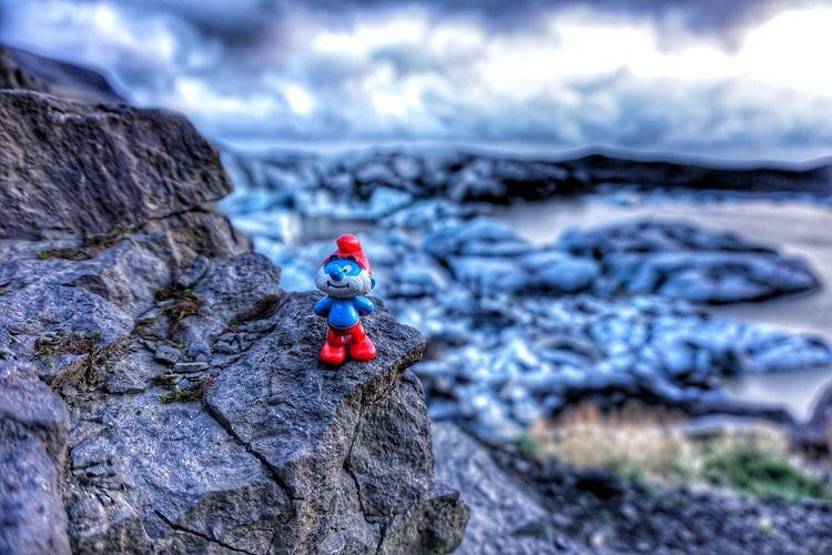 Focus On Foreground Non-urban Scene Nature Scenics Vibrant Color Sony A5100 Iceland Love To Take Photos ❤ Vatnajökull Glacier National Park Glacier Smurf Papasmurf