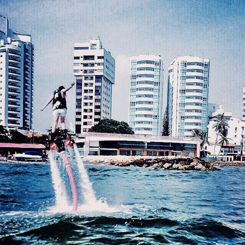 Flyboard First Eyeem Photo