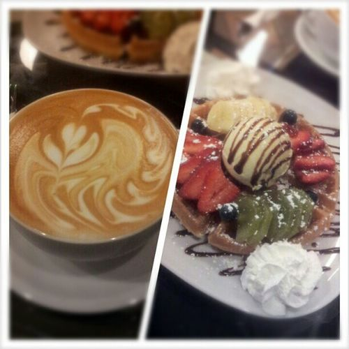 Frenchvanilla Latte x Berry Berry Waffle
