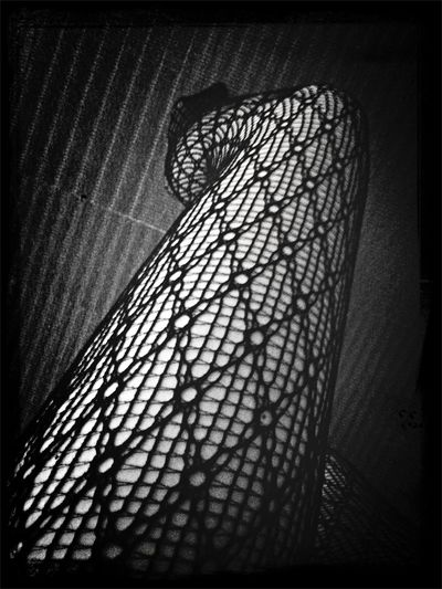 Connect the dots Patterns Legs Stockings Blackandwhite