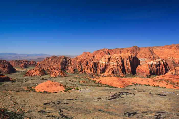 Snow Canyon State Park, Utah Clear Sky Outdoors No People Copyspace Desert Nature Desert Beauty Southern Utah  Snow Canyon State Park Utah Mountain Travel Travel Destinations