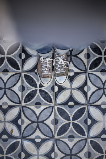 Backgrounds Blue Chucks Close-up Colorful Day Full Frame Marrakech No People Ornaments Outdoors Pattern Tiles Tiles Architecture