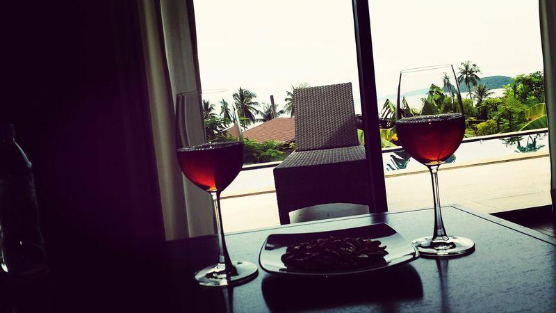 Phuket,Thailand Enjoying Drinks !! Amazing View