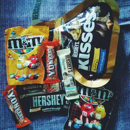 Sweets. Enjoying Life VSCO Vscocam EyeEm Photography Sweets Chocolates Philippines Bulakenya