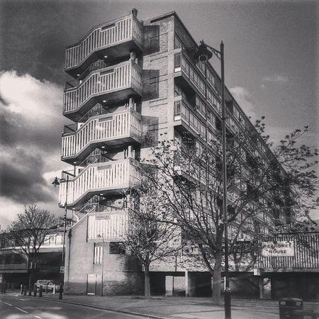 Architecture Brutalist SouthLondon .