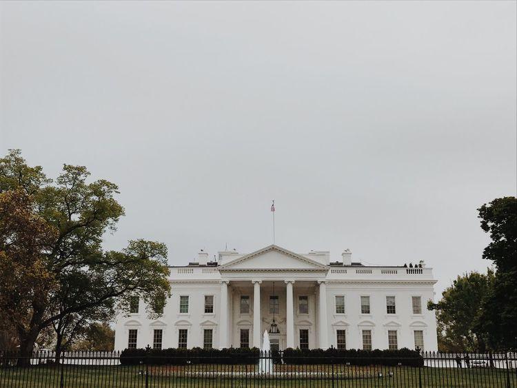 Washington, D. C. The White House