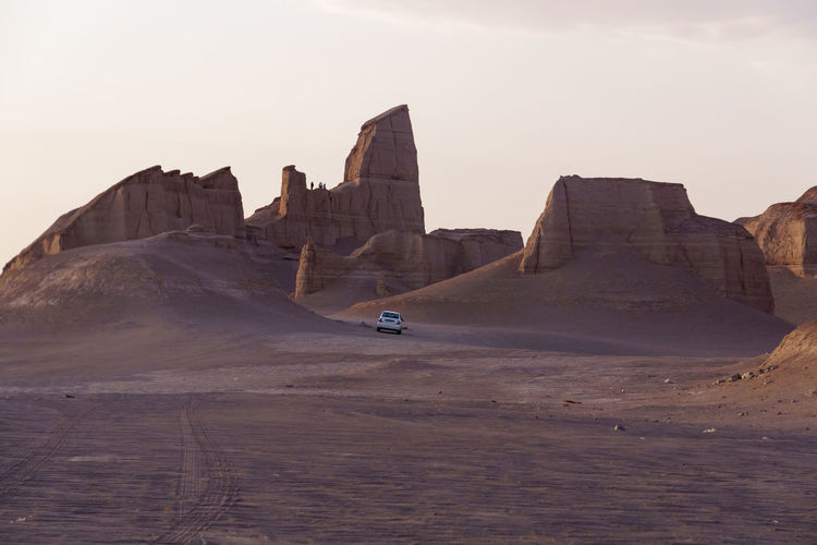 Lut desert Architecture Arid Climate Beauty In Nature Clear Sky Dasht-e Lut Day Desert Iran Kalut Kalut Kerman Kaluts Kerman Lut Desert Nature No People Outdoors Sand Scenics Sky Travel Travel Destinations