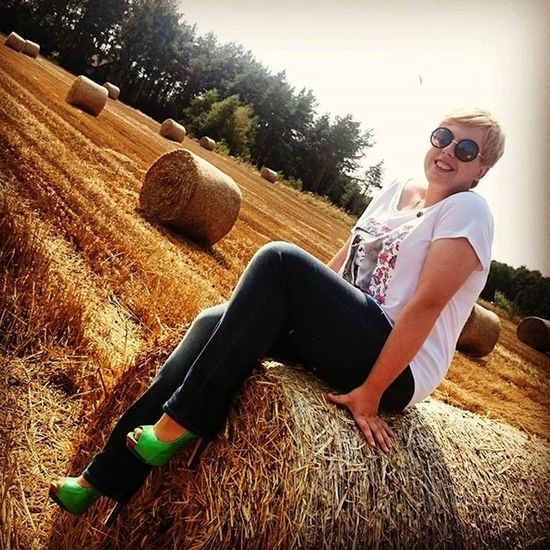 Happy Fitgirl Polishgirl Country Shoes Sunglasses BeautifulPic Poland Jeans Mustang Nature Perfecttime