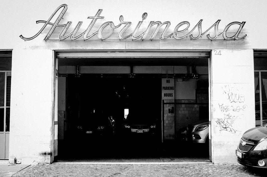 Architecture Blackandwhite Building City Garage Italia Italy Rome