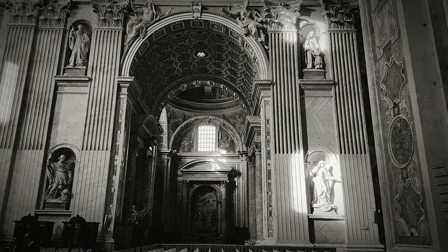 Rome Vatican Italy Cunaka Demirefe At Basilica Di San Pietro In Vaticano Blackandwhite Black & White