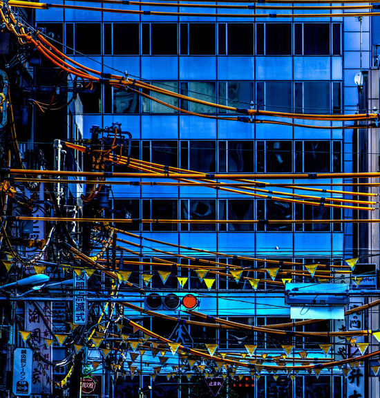 Yellows on Blue HDR Red Adventures In The City Architecture Blue Building Exterior Built Structure Complexity Construction Industry Construction Site Day Development Hdr Edit Industry Machinery Metal No People Outdoors Power Supply Technology Yellow