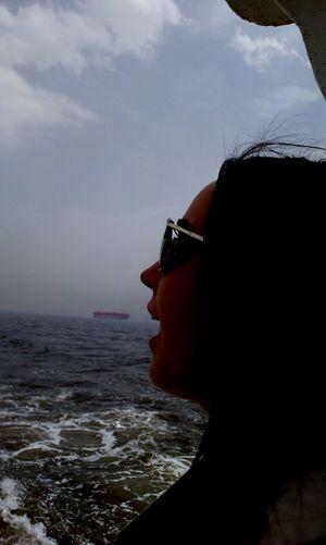 #friend #funny #mouth #sea #ship #sunset #sun #clouds #skylovers #sky #nature #beautifulinnature #naturalbeauty #photography #landscape #TURKEY/Kocaeli #wave