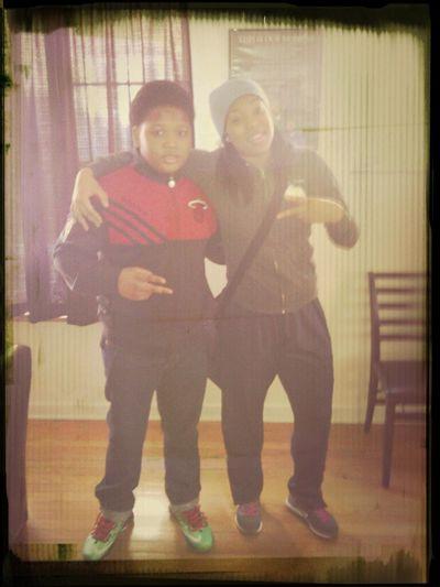 Me & The Lil Bro!
