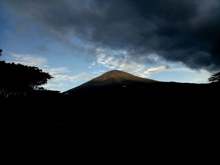 Gunungdempo Volcano Outdoors Beauty In Nature Mountain Landscape Night Headshot Sumsel Palembang-Indonesia Nature