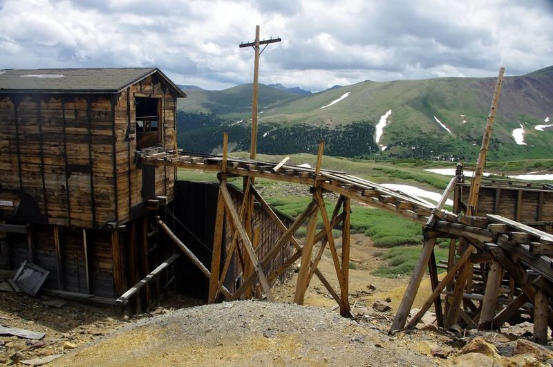 Colorado Photography Colorado Mining History Of America Mining Heritage Santiago Mine Argentine Pass Scenics Landscape Mountain