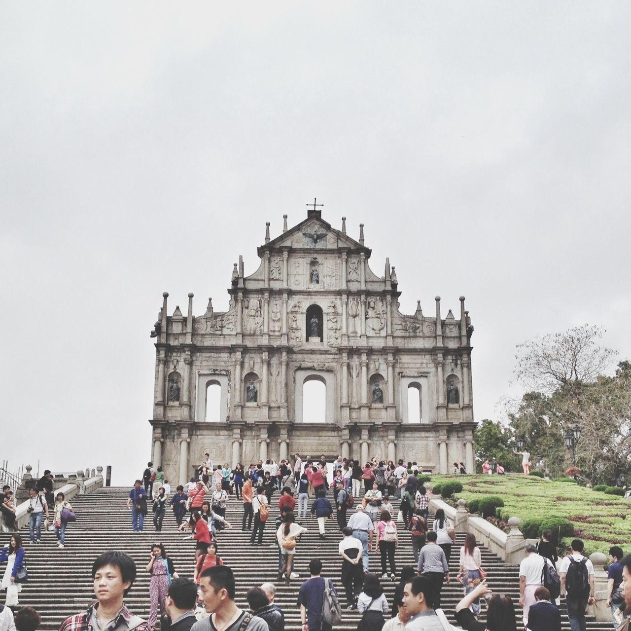 Ruins of st pauls church