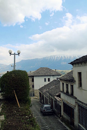 Albania Architecture Building Exterior Built Structure Gjirokaster House Mountain Nature Outdoors Residential Structure Unesco Welkulturerbe Unesco World Heritage UNESCO World Heritage Site