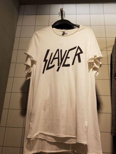 Slayer shirt at mall