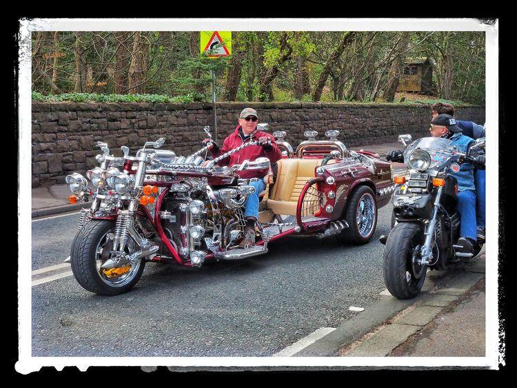The biggest baddest meanest trike ever ? Trikebike Trike Chrome