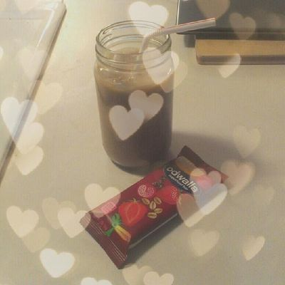 #homemade #icedcoffee and an #odwalla #superfood #bar. Yay #snacks. Caffeinejunkie Coffeedelicious Coffee Kawaiifood Bar Coffeegram Snacks Cutefood Caffeine Odwallabar KAWAII Homemade Foodporn Foodstagram Icedcoffee Odwalla Superfood Coffeejunkie Lookatthatcoffee Betcheslovethis