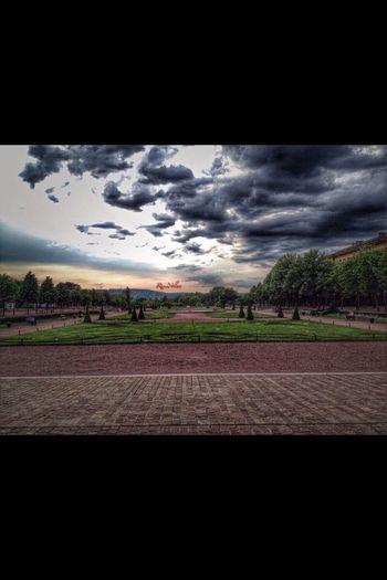 Metz France Sunset Walking Park
