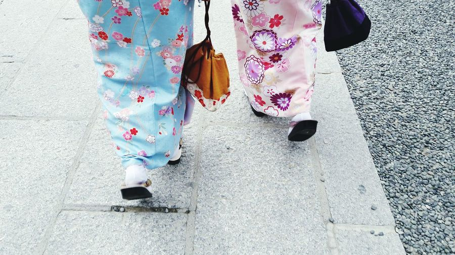 What Who Where Low Section People Photography Japan Kyoto Japan Photography Street Photography Street Scenes Following EyeEm Best Shots EyeEm Japan Girl Power Pastel Power Traditional Clothing Traditional Culture Japanese Style Multi Colored Colors Of Life Traveling See The World Through My Eyes Exploring New Ground Always Be Cozy Legs Legs Legs Legs_only Kimono Fresh on Market 2016 Finding New Frontiers Lieblingsteil Women Around The World EyeEm Diversity Market Bestsellers 2017 The Street Photographer - 2017 EyeEm Awards Be. Ready. Adventures In The City The Street Photographer - 2018 EyeEm Awards Urban Fashion Jungle Human Connection
