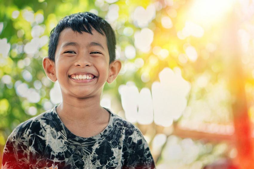 Smiling Children Only Happiness Child Boys One Boy Only One Person Headshot People Outdoors Childhood Cheerful Males  Portrait Fun Casual Clothing Day Enjoyment Human Body Part Human Face