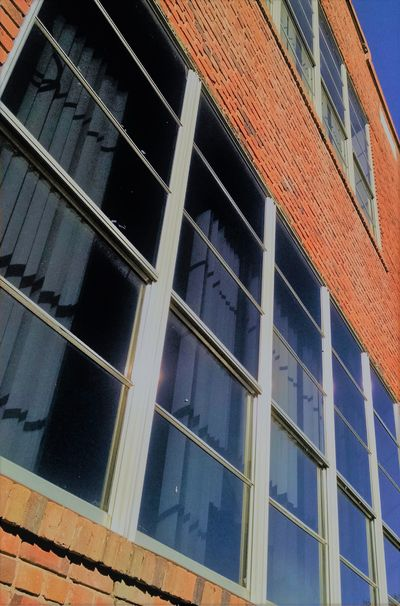 Architecture Building Exterior Geometric Shapes Lines Lines And Shapes Low Angle View Minimalist Architecture No People Old Buildings Window Windows
