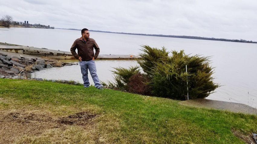At the Hudson Bay Golfer Golf Club Water Golf Course Sportsman Golf Men Full Length Sea Standing