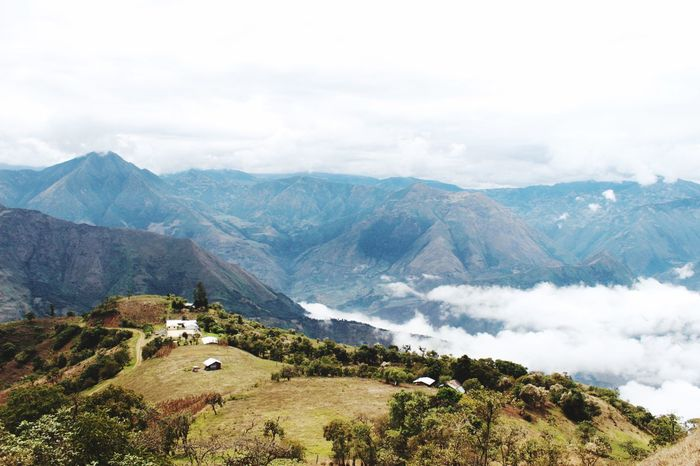 Somewhere in the Mountains of Ecuador Nature Tranquil Scene Tranquility Big World, Little People Somewhere EyeEmNewHere Mountain Hidden Miles Away