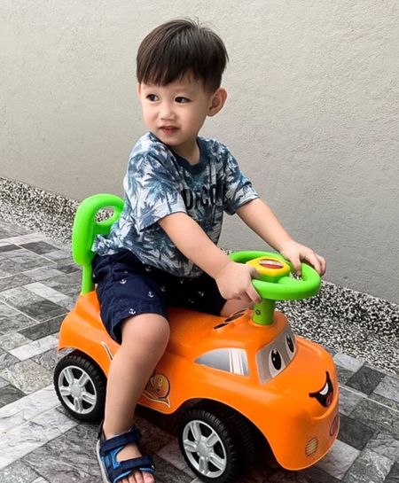 Playing Childhood Child Toy Sitting Full Length One Person My Best Photo Cute Males  Innocence Boys Casual Clothing Portrait Toy Car Looking At Camera Playing Real People Lifestyles Riding