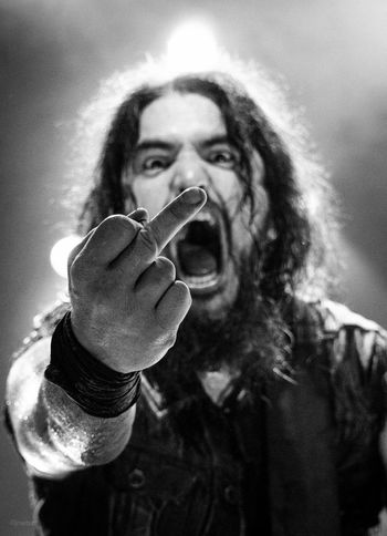 Black And White Blackandwhite Close-up Concert Concert Photography Heavy Metal Live Music Live Music Photography Machine Head Metal Robb Flynn Rock Star