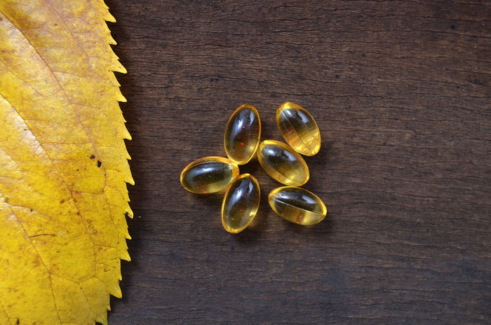 omega 3 Capsule Close-up Cod Liver Oil Day Healthy Lifestyle No People Omega 3 Pill Vitamin D