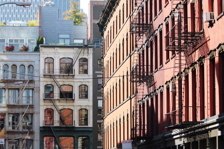 Building Exterior Architecture Built Structure City Outdoors Apartment Day No People New York City Soho