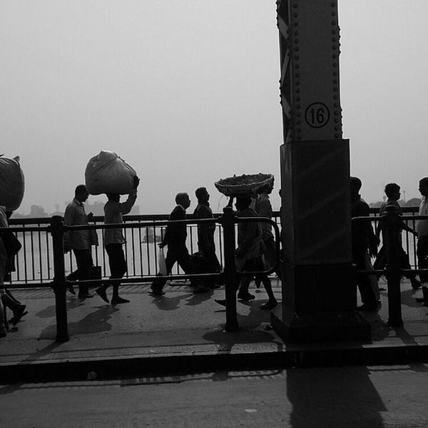 Good Noon Busy Lives Metro City Howrah Bridge Instaupdate Satarupa Click SCphotography Instadaily Follow Me .
