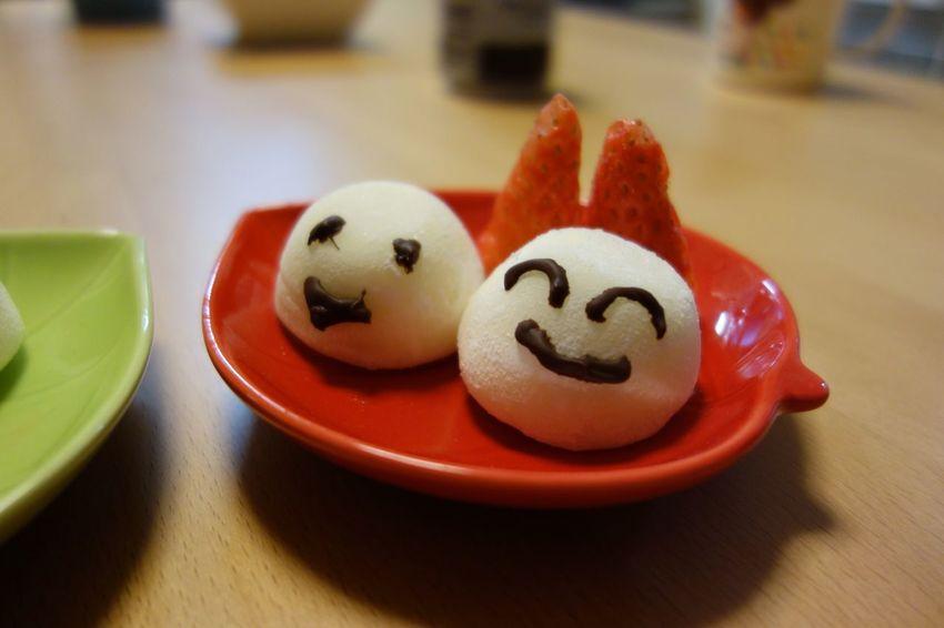 雪見だいふく(デコ ver.) I tried to decorate ice♪ Ice Cream 雪見だいふく Sweets Decorate