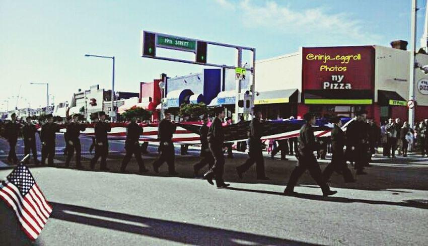 2013 Veterans Day Streetparade Parade